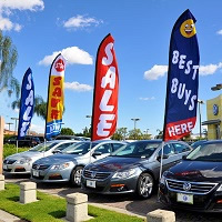 Flags for Auto Dealers